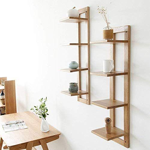 SED Home Storage Rack Wall Shelves Floating Shelf Wood