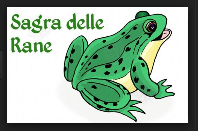 Sagra della Rana - Frog Festival, Through June 29, 2014, in Staggia Senese, Poggibonsi (Siena); food booths open at 7:30 p.m.; live shows, music and dancing start at 9 p.m.