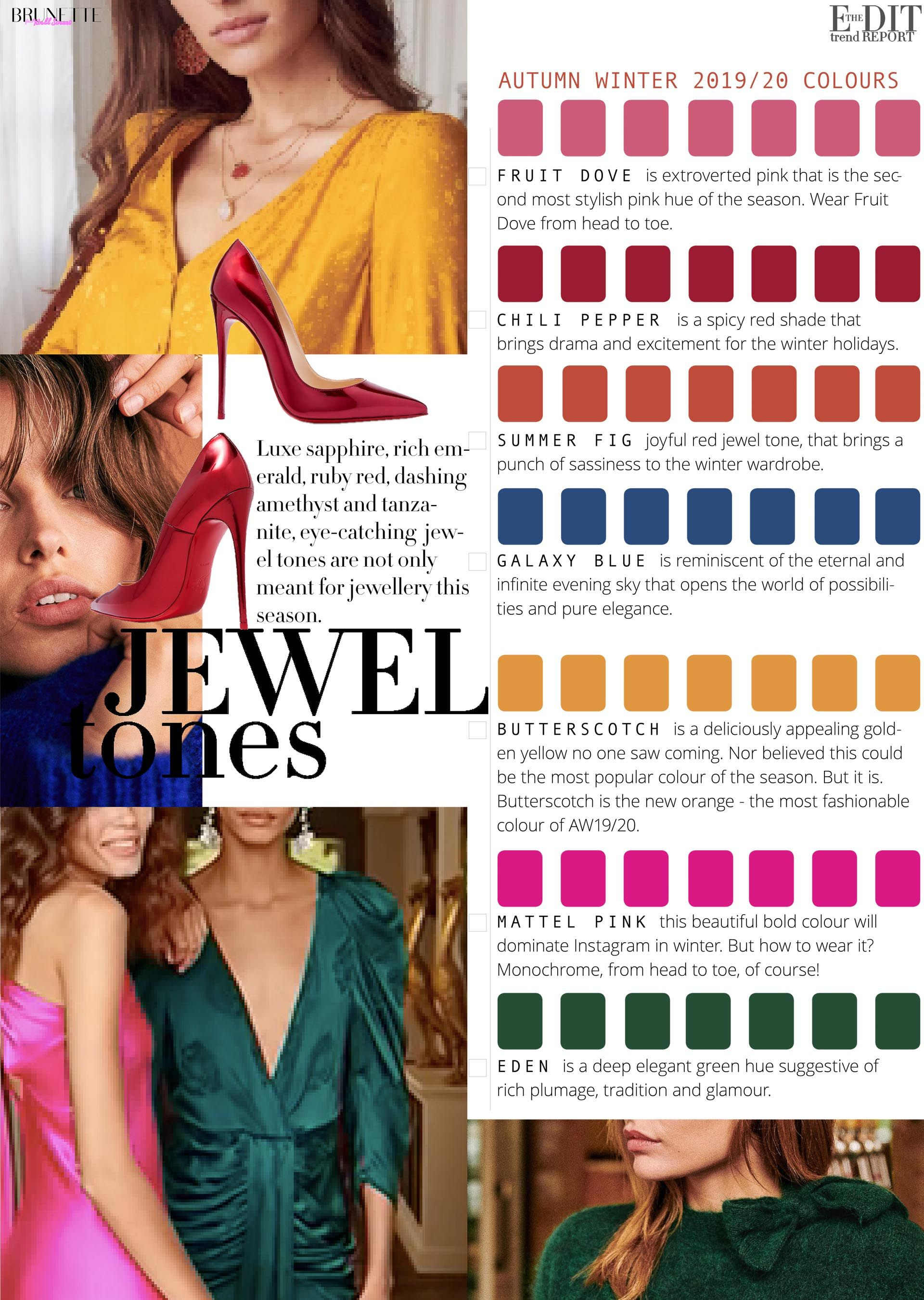 Color Street Winter 2020.2019 20 Fall Winter Color Trends Tips Fashion Summer