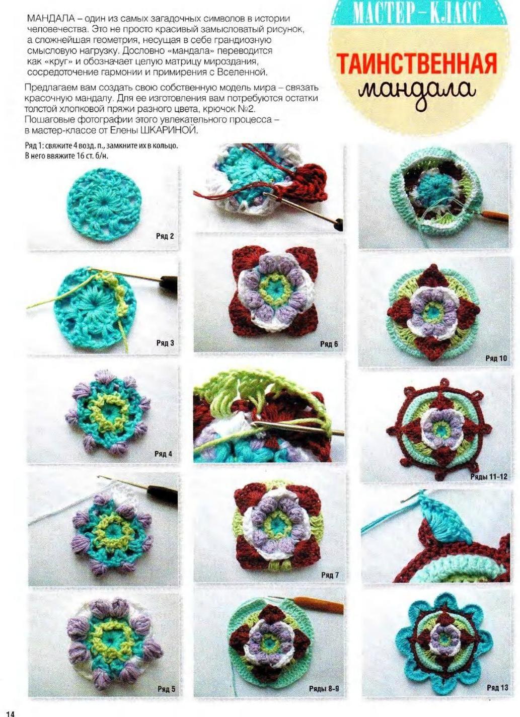 вяжем крючком 6 2016 Crochet Stitch Pattern Cable Overlay