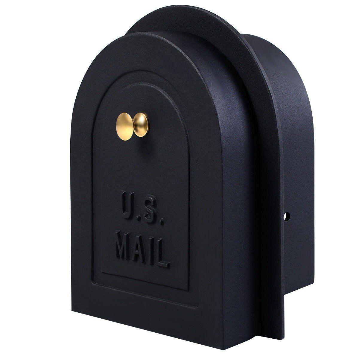 8 Brick Stone Stucco Mailbox Door Cast Aluminum Replacement
