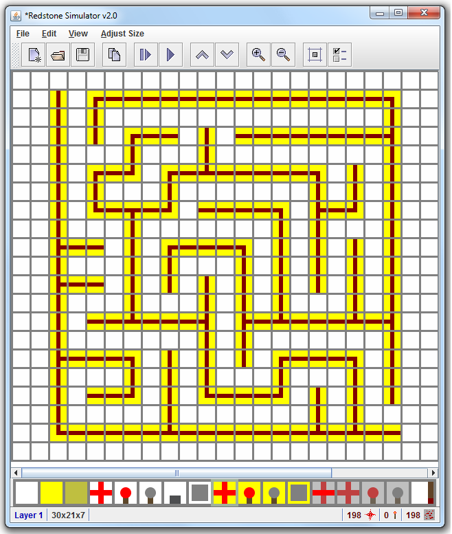 hay maze layout | Here is the layout of the accual maze