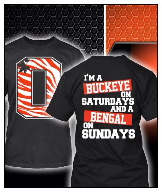 buckeye on saturday and bengal on sunday