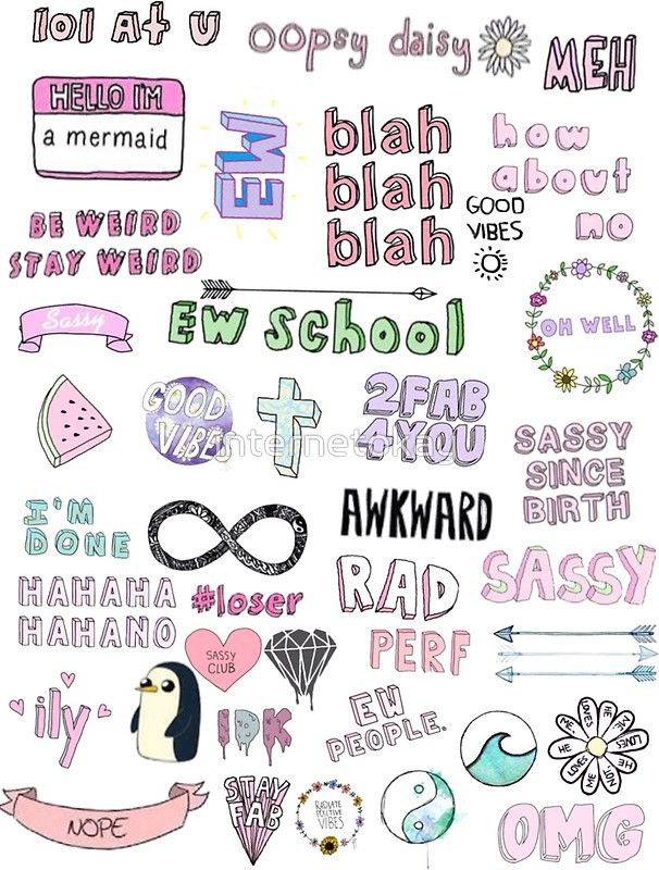 Tumblr Transparent Collage Sticker By Internetokay School