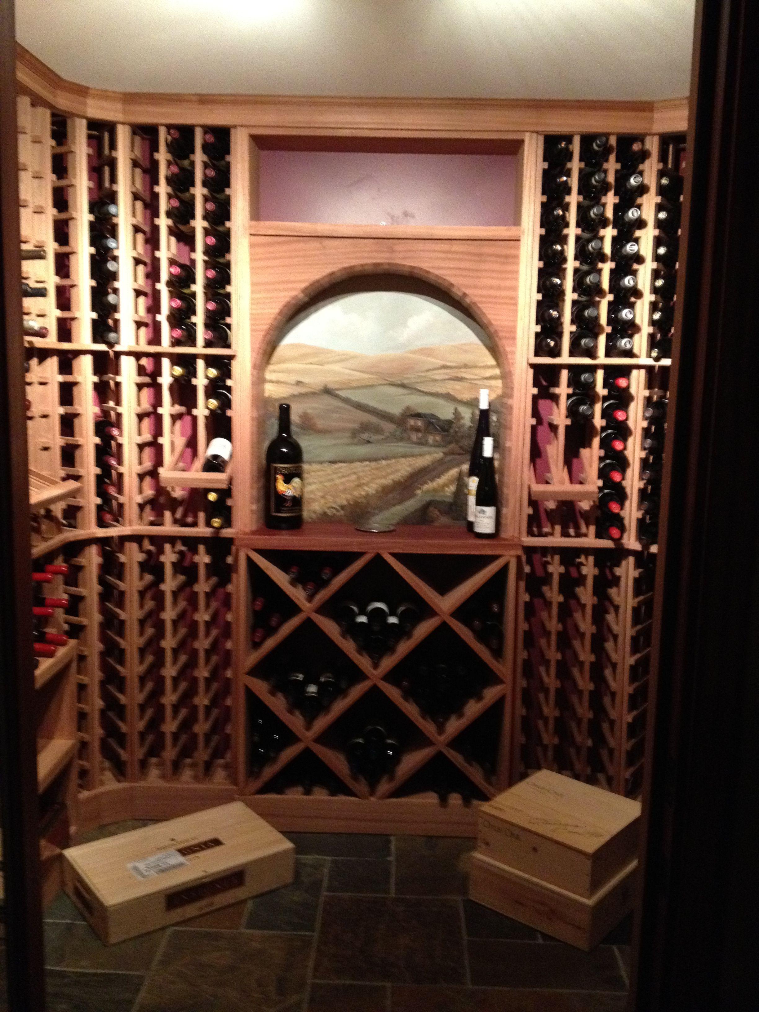 St. Louis, MO Custom Wine Cellar Design by Redwood Wine Cellars ...