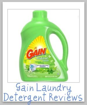 Gain Laundry Detergent Reviews Ratings And Information Gain
