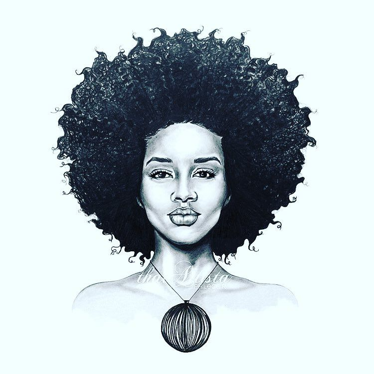 Not Affirmed By Applause Bt My Own Perception Of Sense Flowerchild Spirited Drawings Of Black Girls Female Face Drawing Black Women Art