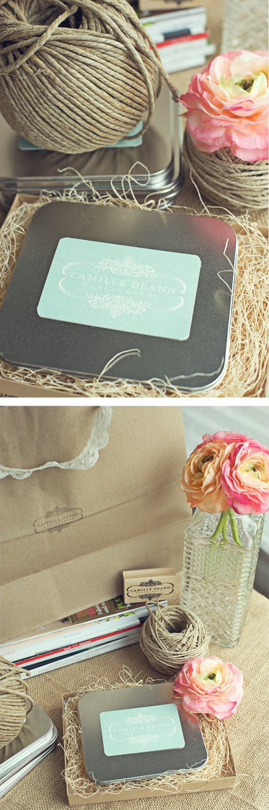 We love this packaging from Camille Deann Photography ! She has great taste and her branding is just divine. Love the natural products with ...