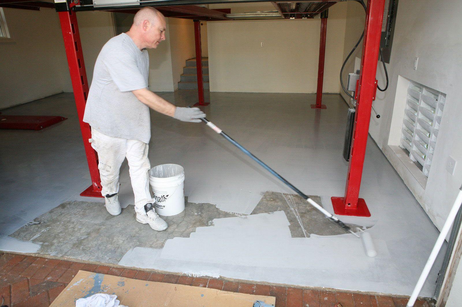 garage floor epoxy paint Garage floor paint, Floor