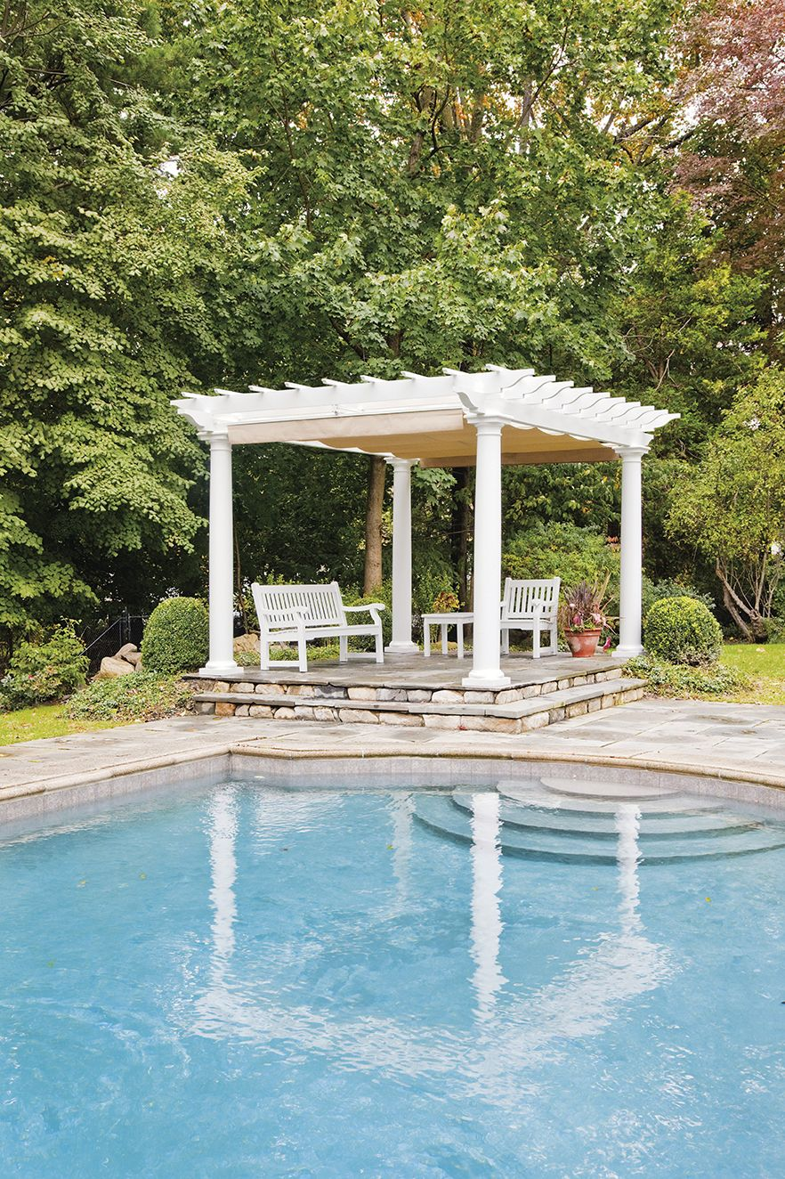 azek pergola kits from walpole are the perfect solution for