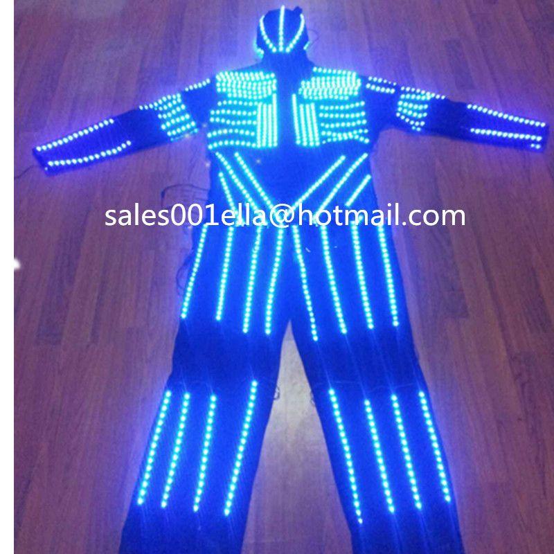 Click to Buy u003cu003c Led Costume Luminous Light Up Robot Suit With LED. u003eu003e  sc 1 st  Pinterest & Click to Buy u003cu003c Led Costume Luminous Light Up Robot Suit With LED ...