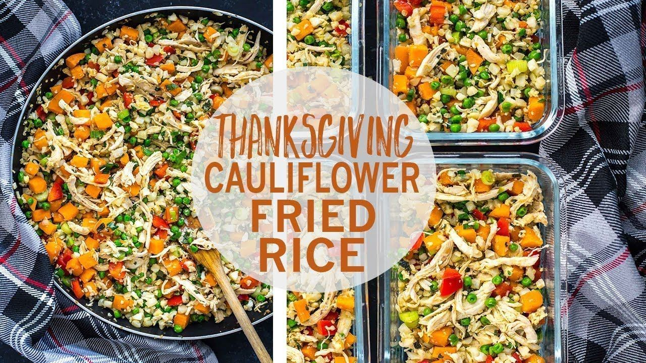 Thanksgiving Cauliflower Fried Rice #cauliflowerfriedrice Thanksgiving Cauliflower ... #cauliflowerfriedrice