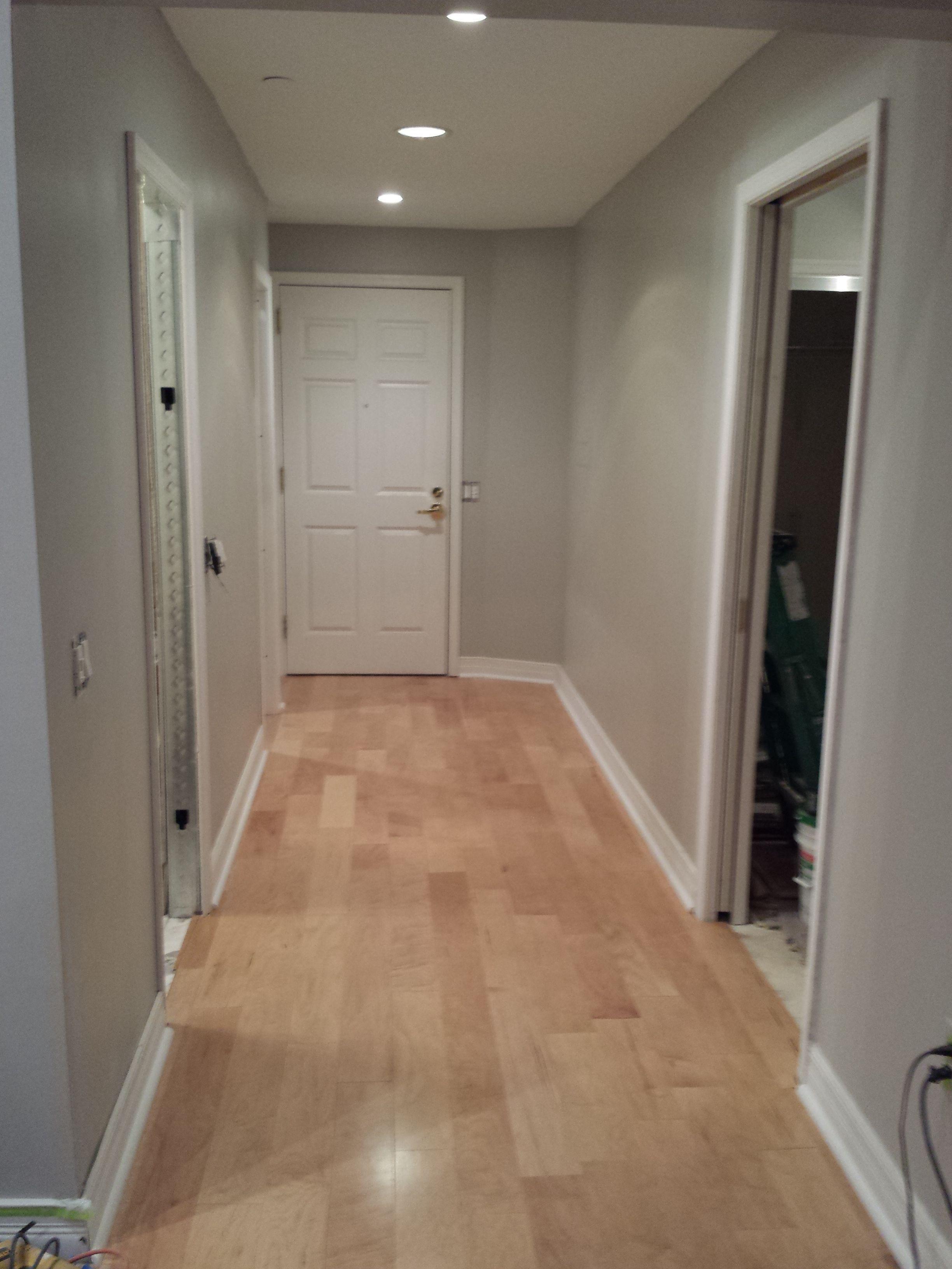 Beautiful Dark Floors Grey Walls Grey Walls Maple Flooring Grey