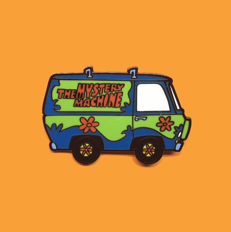 Arsenic Or Cyanide Mystery Machine Enamel Pin Enamel Pins Pin And Patches Sticker Patches