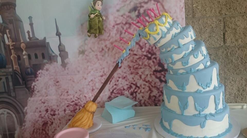 Pin On Sleeping Beauty Cake