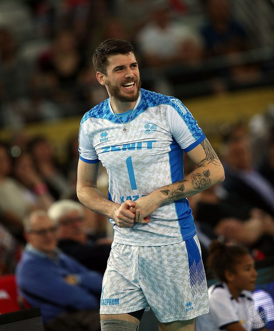 29 04 2017 Roma Cev Final 4 Berlin Recycling Zenit Kazan 0 3 Volleyball Photography Matt Anderson Volleyball