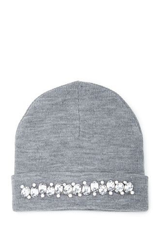 1dfca2adb7a Embellished hat- adds a touch of bling to cold weather accessories - http