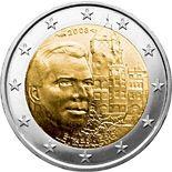 2 euro Grand-Duke Henri and the 'Château de Berg' - 2008 - Series: Commemorative 2 euro coins - Luxembourg