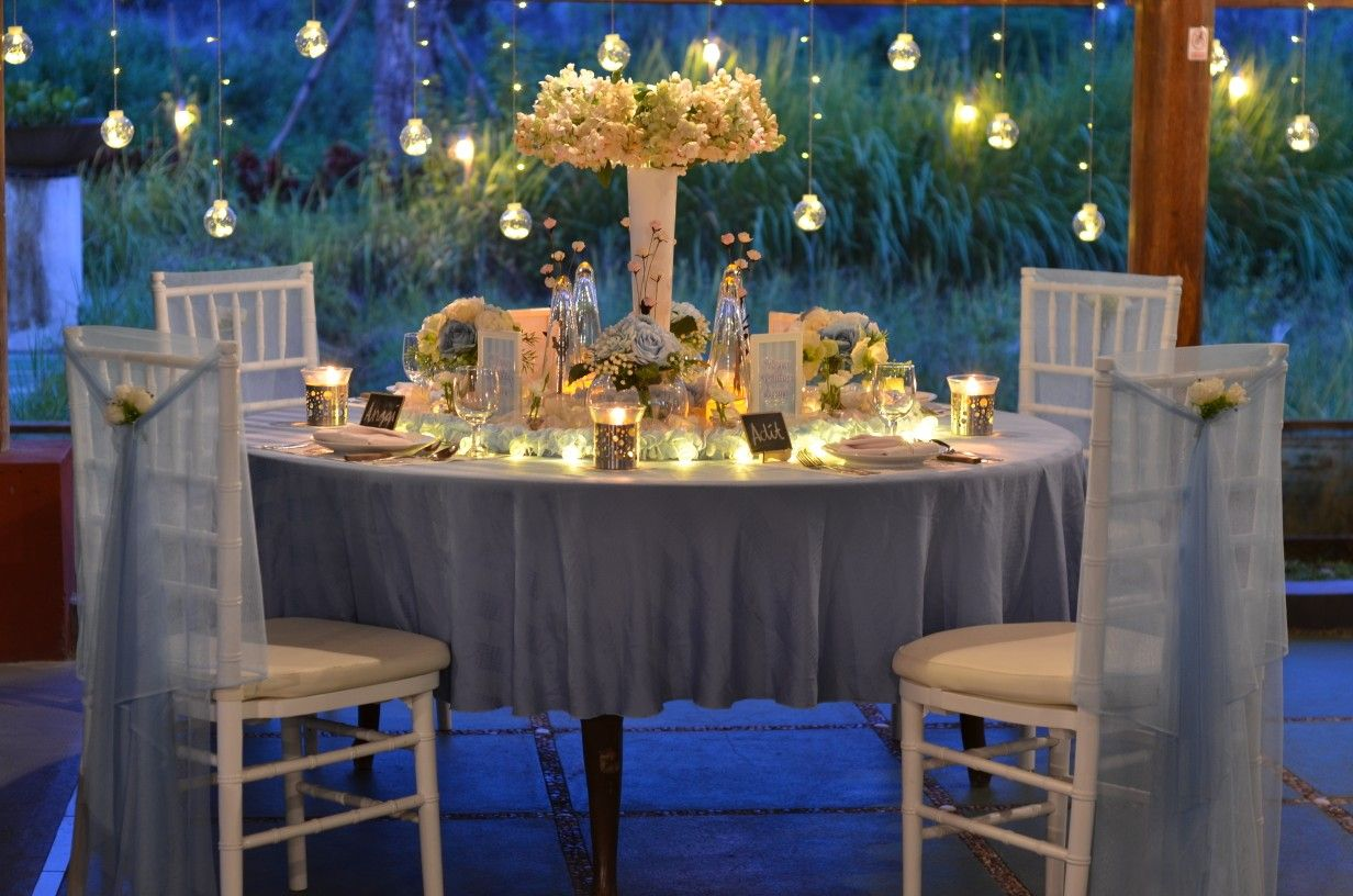 Wedding decorations wedding reception ideas november 2018 Romantic dinner  November  decor by signaturesfinedining