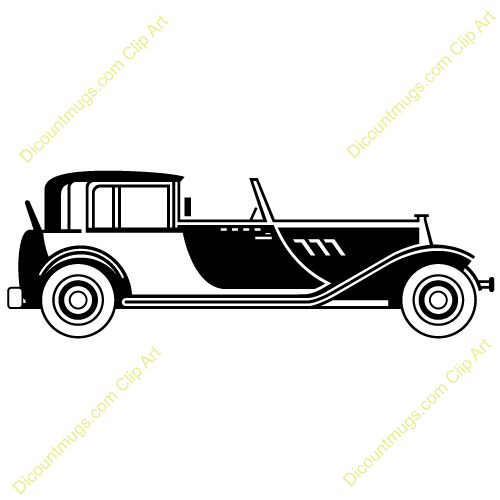 Clipart 10500 V 46 1920s Classic Car Mugs T Shirts Picture Mouse Pads More Clip Art Unique Holiday Cards Baby Clip Art