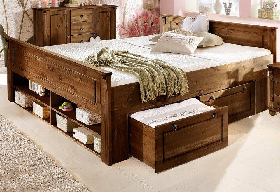Schlafzimmer tessin ~ Bett home affaire »tessin« tessin bett und schubkasten