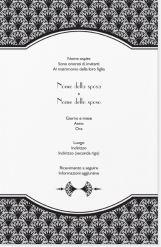 Partecipazioni Matrimonio Vistaprint.Arancione Art Deco Inviti E Annunci Nozze E Art Deco