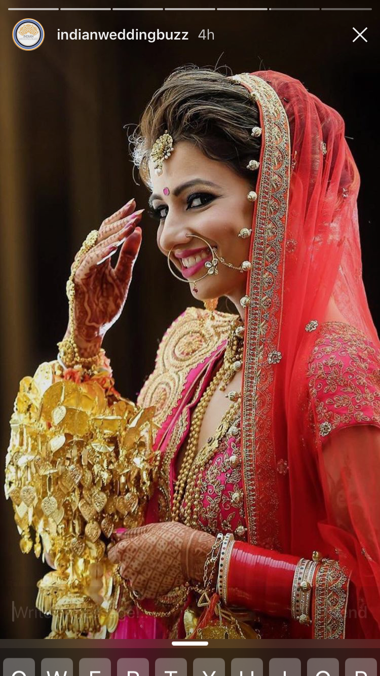 love the bridal pose captures all the jewelry and kalire
