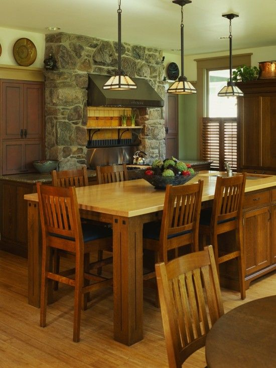 Large Kitchen Islands Design, Pictures, Remodel, Decor and Ideas ...