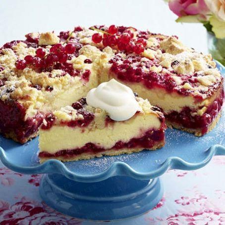 Johannisbeer Quarkkuchen 3 9 5 Rezept Kuchen Kuchen Ohne Backen Rezepte