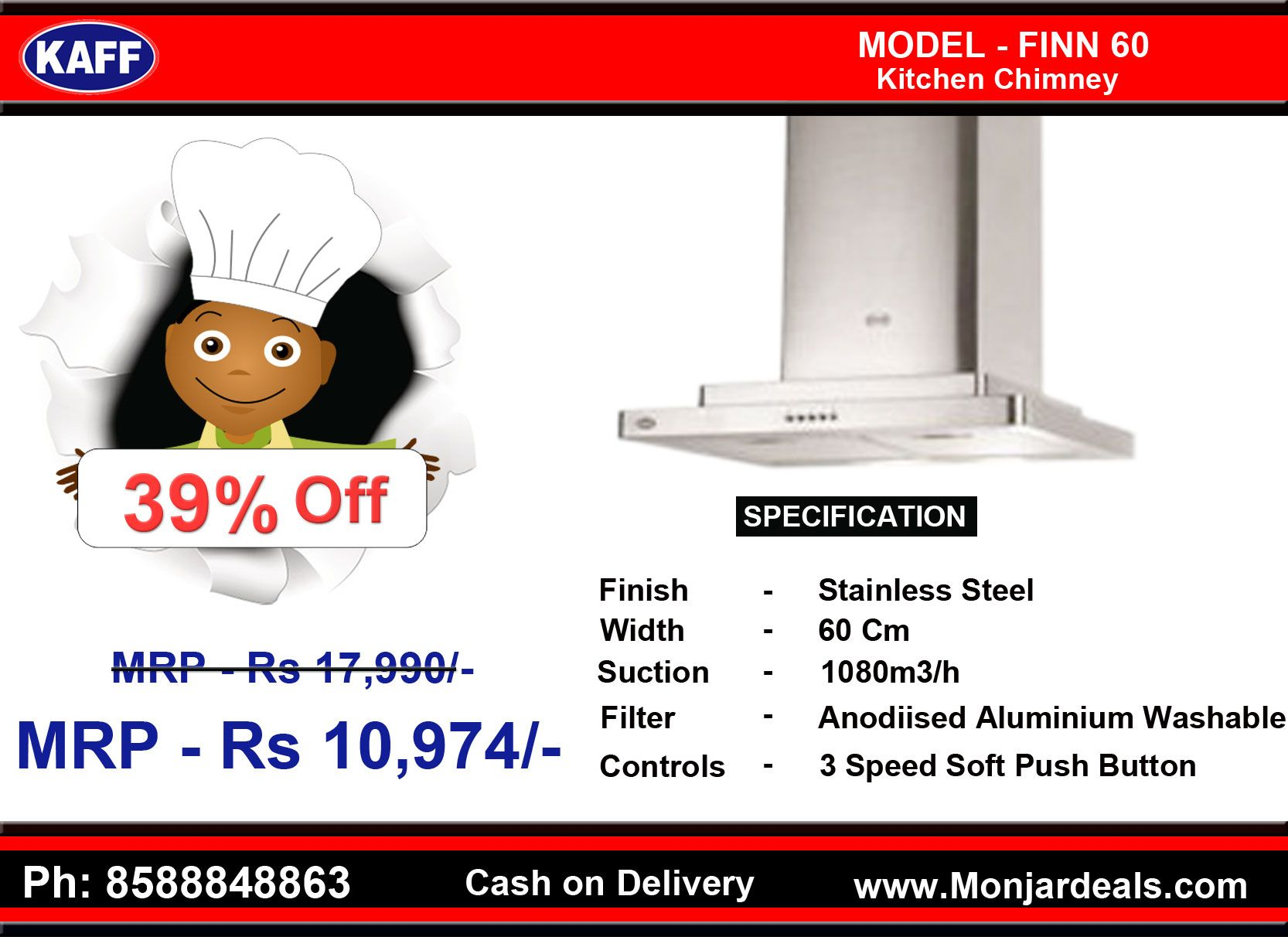 Kaff #kitchen #chimney Best #Price #Kitchen #appliances #Online ...