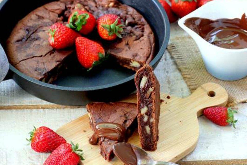 Brownie a la sartén; una opción fácil, económica y muy rápida ¡No se puede pedir más! – En el Punto