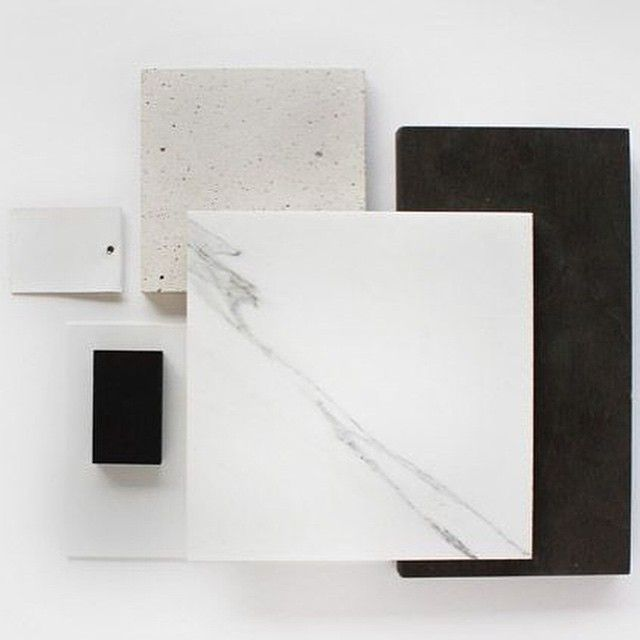 D Design Blog | inspiration #marble #materials #moodboard