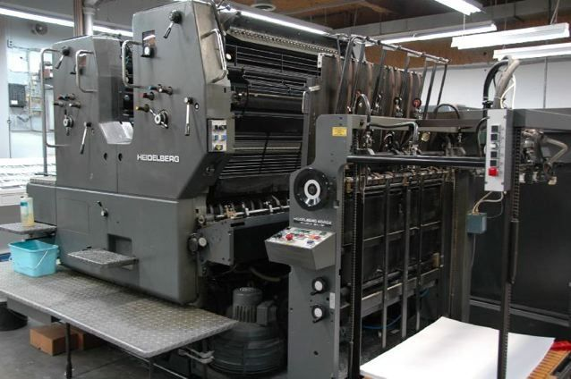 buying and selling used offset printing equipment books worth