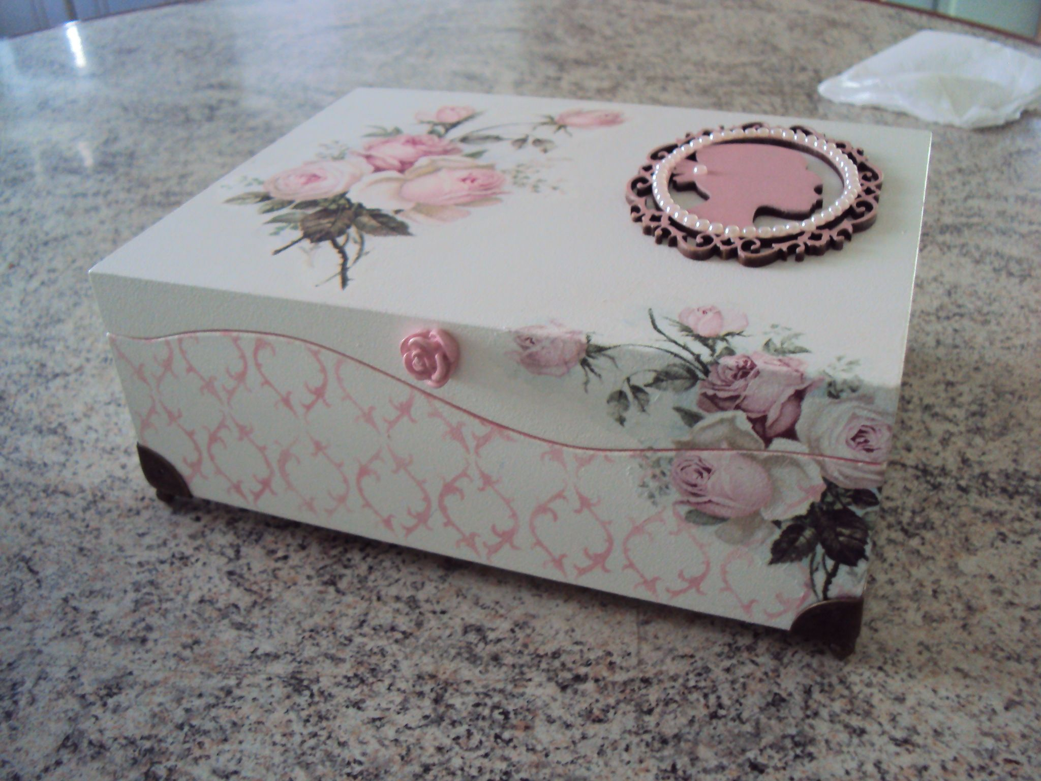 Wedding Gift Box Malta : ems decoupage crafts mdf box painting projects decorative boxes wood ...