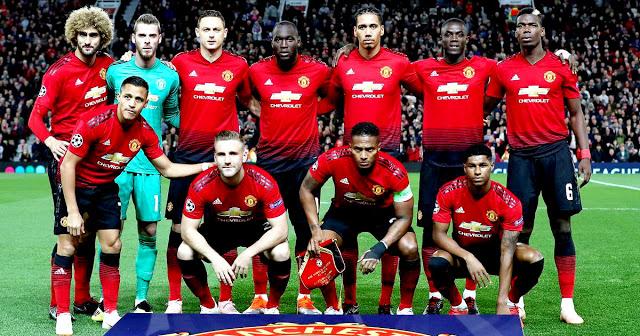 MANCHESTER UNITED F. C. Temporada 2018-19. Fellaini, De Gea ...
