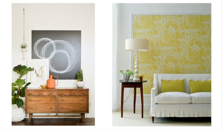 12 Affordable Ideas for Large Wall Decor | House Entry | Pinterest ...