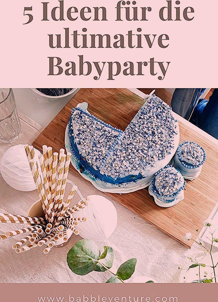 Babyparty planen: Ideen, Dekoration, Spiele und Essen