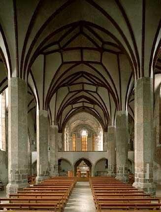 Chiesa dei Domenican, Bolzano, Italian Alps (3-2)