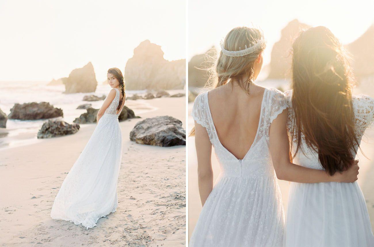 Bohemian wedding dresses from dreamers u lovers wedding dress