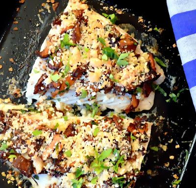 Photo of Barramundi White Fish with Mushrooms and Browned Butter – This Is How I Cook