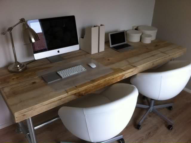 Computer bureau steigerhout google zoeken kantoor for Computer bureau