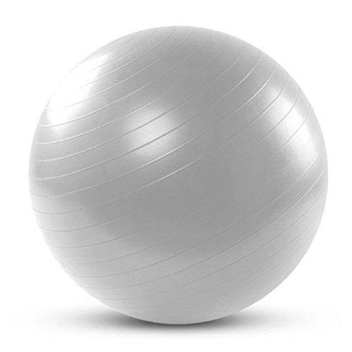 silfrae 65cm yoga ball exercise ball pilate balance ball ball chair