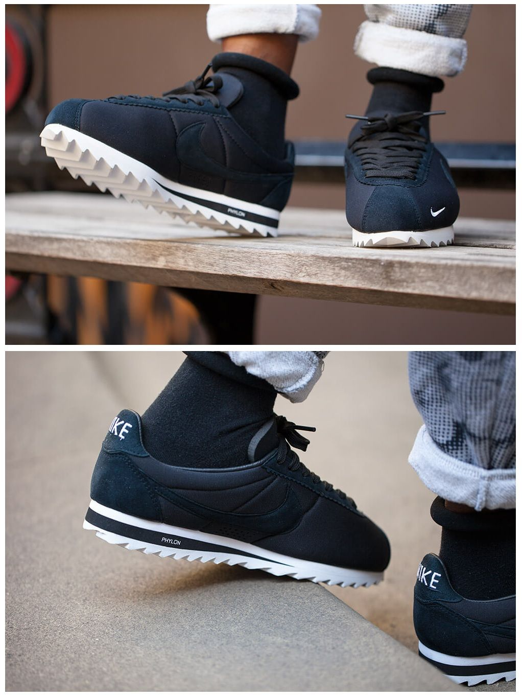 Nike Cortez Shark SP: Black
