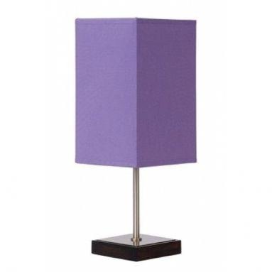 Tafellamp Duna-Touch 1L Paars H34,5cm