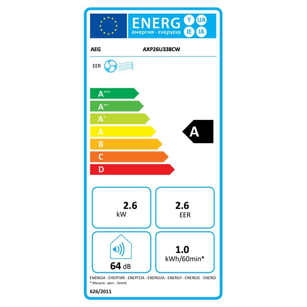 Aeg Chillflex Pro Axp26u338cw Portable Air Conditioner 9000 Btu White In 2020 Energy Efficiency Good Night Sleep How To Remove
