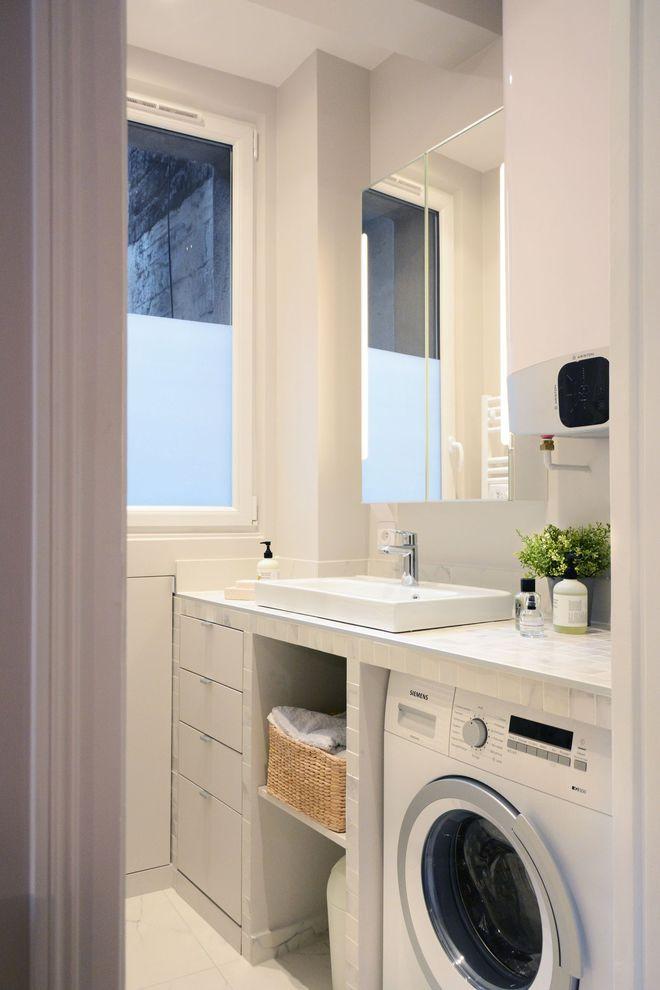 Une petite salle du0027eau de 2,8 m2 optimisée au centimètre carré