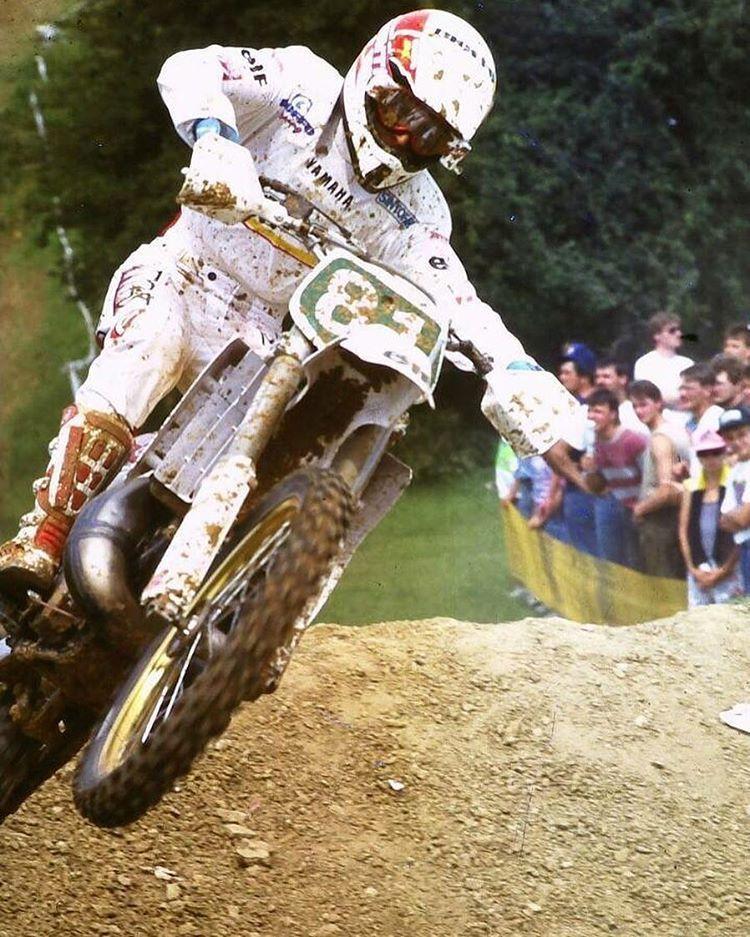 Bob Moore 1992 Yamaha racing, Motocross, Vintage motocross
