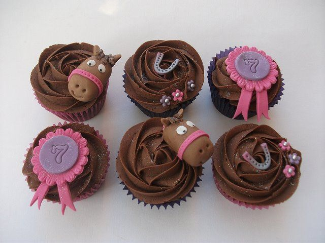horse cupcakes found on facebook not sure of original creator but