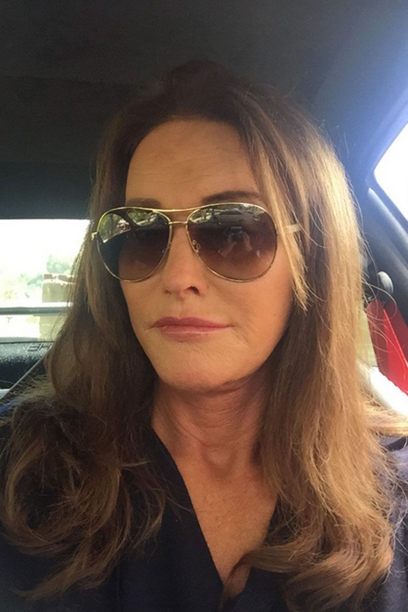 "Caitlyn Jenner shares her first selfie on Instagram: ""No #SocialMediaQueen can be crowned without posting a selfie, so here's my first!""   - HarpersBAZAAR.com"
