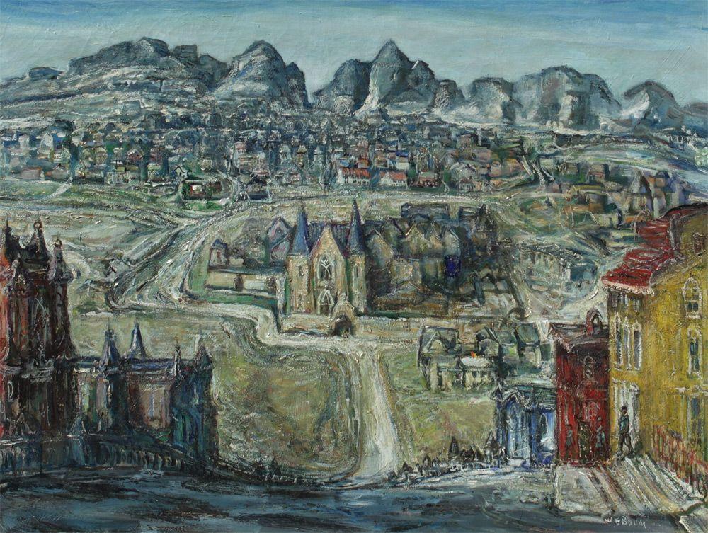 'Medieval City' - Walter Emerson Baum (1884–1956)